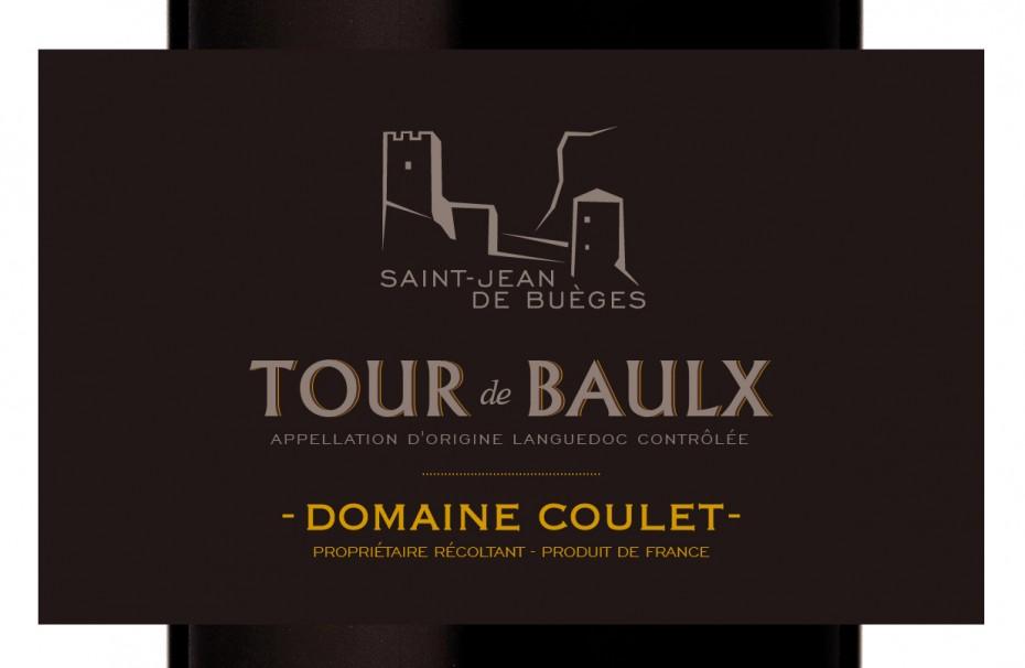 Etiquette Tour de Baulx