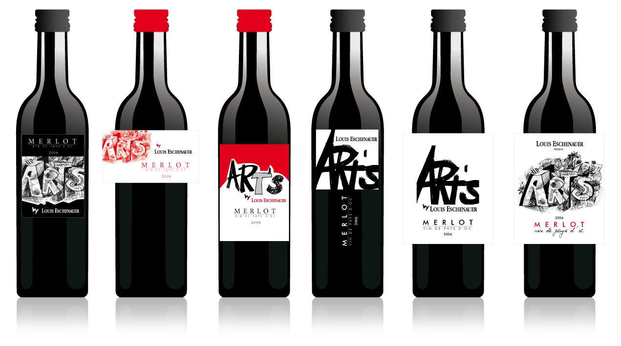 Etiquettes De Vin Pour Bouteilles De 187cl