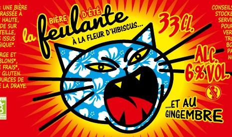 """""""La Feulante"""", bière d"""