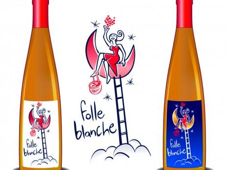 Étiquette de vin du Val de Loire