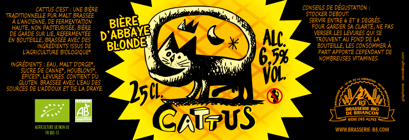 Bière bio Cattus