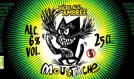 Bière bio Moustache
