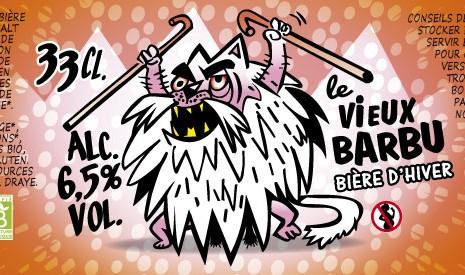 Bière bio le vieux barbu