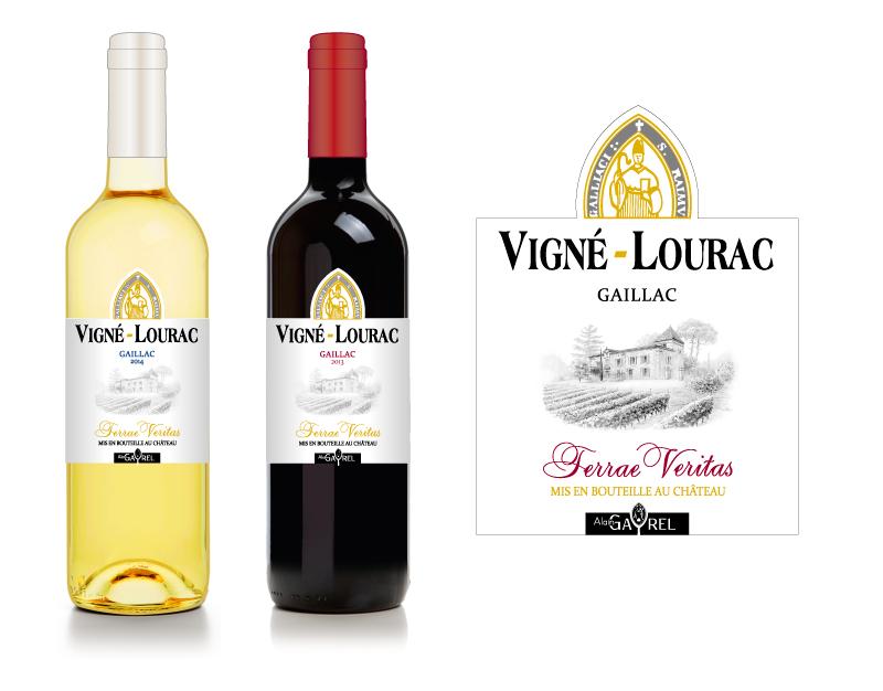 Création des habillages des vins de Gaillac de la gamme Terrae Veritas