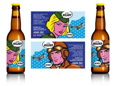 les bières wings versions homme et femme