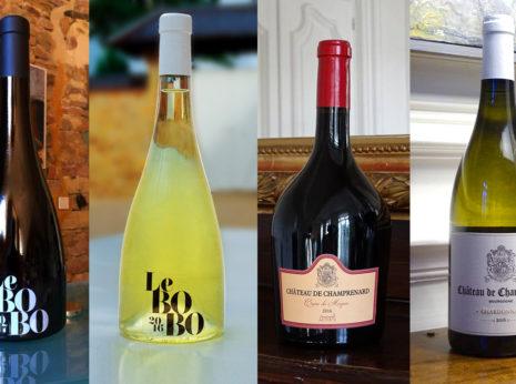 Création des étiquettes des vins du Château de Champ-Renard, un superbe domaine viticole situé à Blacé dans le département du Rhône.
