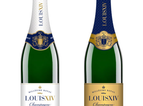 Création étiquette de Champagne