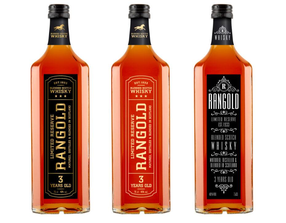 Création étiquette de Whisky