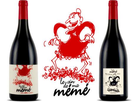 Création étiquette de vin nature
