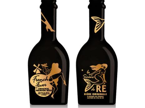 Création étiquette de bière au cognac