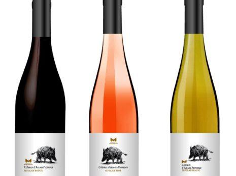 Création des étiquettes de vins en Coteaux d'Aix en Provence